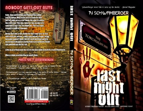 Ty Schwamberger's Last Night Out - released February 2nd 2013